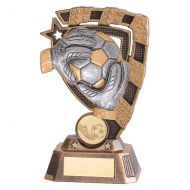 Euphoria Goalkeeper Football Trophy Award 150mm : New 2019