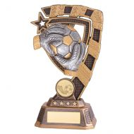 Euphoria Goalkeeper Football Trophy Award 180mm : New 2019