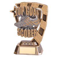 Euphoria Football Top Goal Scorer Trophy Award 130mm : New 2019