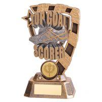 Euphoria Football Top Goal Scorer Trophy Award 150mm : New 2019
