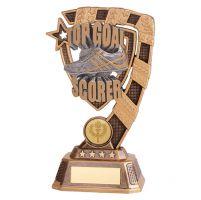 Euphoria Football Top Goal Scorer Trophy Award 180mm : New 2019