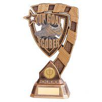 Euphoria Football Top Goal Scorer Trophy Award 210mm : New 2019