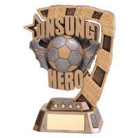 Euphoria Football Unsung Hero Trophy Award 130mm : New 2019