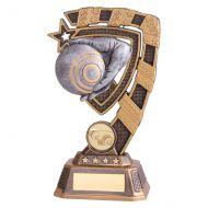 Euphoria Lawn Bowls Trophy Award 180mm : New 2019