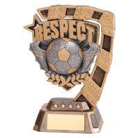 Euphoria Football Respect Trophy Award 130mm : New 2019