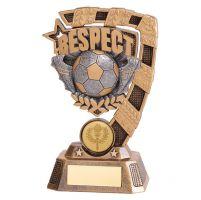 Euphoria Football Respect Trophy Award 150mm : New 2019