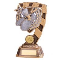 Euphoria Badminton Trophy Award 180mm : New 2019