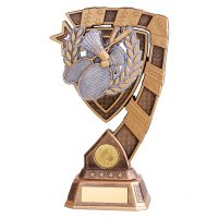 Euphoria Badminton Trophy Award 210mm : New 2019