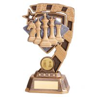 Euphoria Chess Trophy Award 180mm : New 2019
