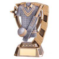 Euphoria Cricket Trophy Award 130mm : New 2019
