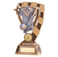 Euphoria Cricket Trophy Award 180mm : New 2019