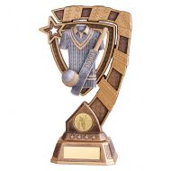 Euphoria Cricket Trophy Award 210mm : New 2019