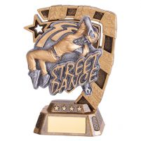 Euphoria Street Dance Trophy Award Female 130mm : New 2019