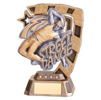Euphoria Street Dance Trophy Award Male 130mm : New 2019