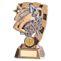 Euphoria Street Dance Trophy Award Male 150mm : New 2019