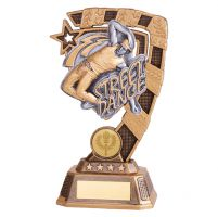 Euphoria Street Dance Trophy Award Male 180mm : New 2019