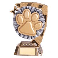 Euphoria Dog Agility Trophy Award 130mm : New 2019
