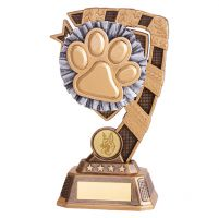 Euphoria Dog Agility Trophy Award 180mm : New 2019