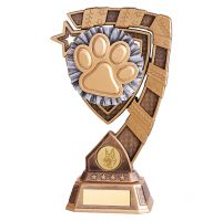Euphoria Dog Agility Trophy Award 210mm : New 2019