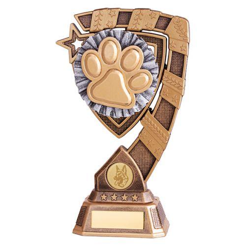 Euphoria Dog Agility Trophy Award 210mm : New 2019