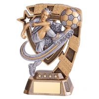 Euphoria Male Football Trophy Award 130mm : New 2019