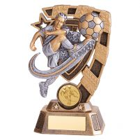 Euphoria Male Football Trophy Award 150mm : New 2019