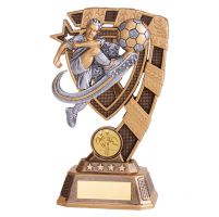 Euphoria Male Football Trophy Award 180mm : New 2019