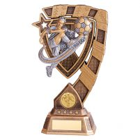 Euphoria Male Football Trophy Award 210mm : New 2019