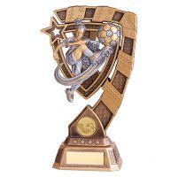 Euphoria Girls Football Trophy Award 210mm : New 2019