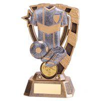 Euphoria Football Trophy Award 150mm : New 2019