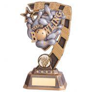 Euphoria Tenpin Bowling Trophy Award 180mm : New 2019