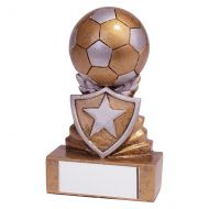 Shield Football Mini Trophy Award 95mm : New 2019