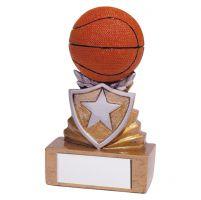 Shield Basketball Mini Trophy Award 95mm : New 2019