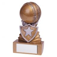 Shield Cricket Mini Trophy Award 95mm : New 2019