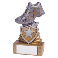 Shield Running Mini Trophy Award 95mm : New 2019