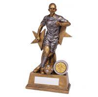 Warrior Stars Girls Footbal Trophy Award 205mm : New 2019