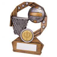 Enigma Netball Trophy Award 120mm : New 2019