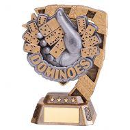 Euphoria Dominoes Trophy Award 130mm : New 2019