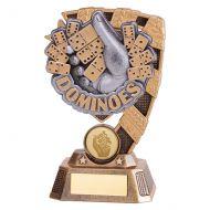 Euphoria Dominoes Trophy Award 150mm : New 2019