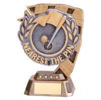 Euphoria Golf Nearest the Pin Trophy Award 130mm : New 2019