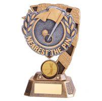 Euphoria Golf Nearest the Pin Trophy Award 150mm : New 2019