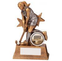 Warrior Star Hockey Female Trophy Award 125mm : New 2020