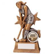 Warrior Star Hockey Female Trophy Award 165mm : New 2020