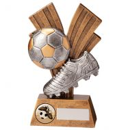 Xplode Football Boot and Ball Trophy Award 150mm : New 2020