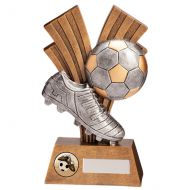 Xplode Football Boot and Ball Trophy Award 180mm : New 2020