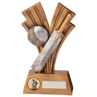 Xplode Cricket Trophy Award 180mm : New 2020