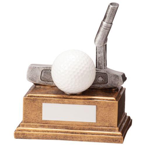 Belfry Golf Putter Trophy Award 120mm : New 2020