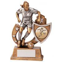 Galaxy Girls Football Trophy Award 125mm : New 2020