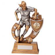 Galaxy Girls Football Trophy Award 205mm : New 2020