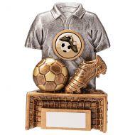 Spirit Football Boot and Ball Trophy Award 125mm : New 2020